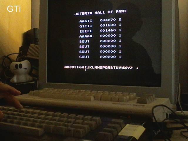 GTibel: Jetbrix (Commodore 16/Plus4) 4,070 points on 2018-02-03 02:52:59