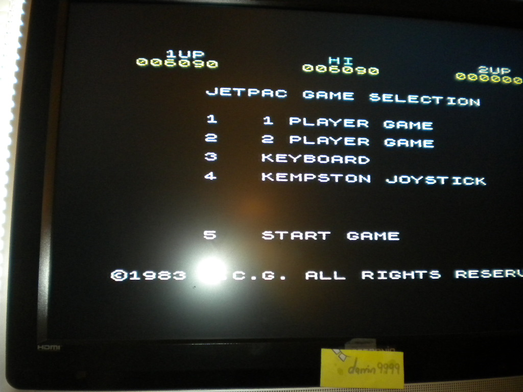 Jetpac 6,090 points