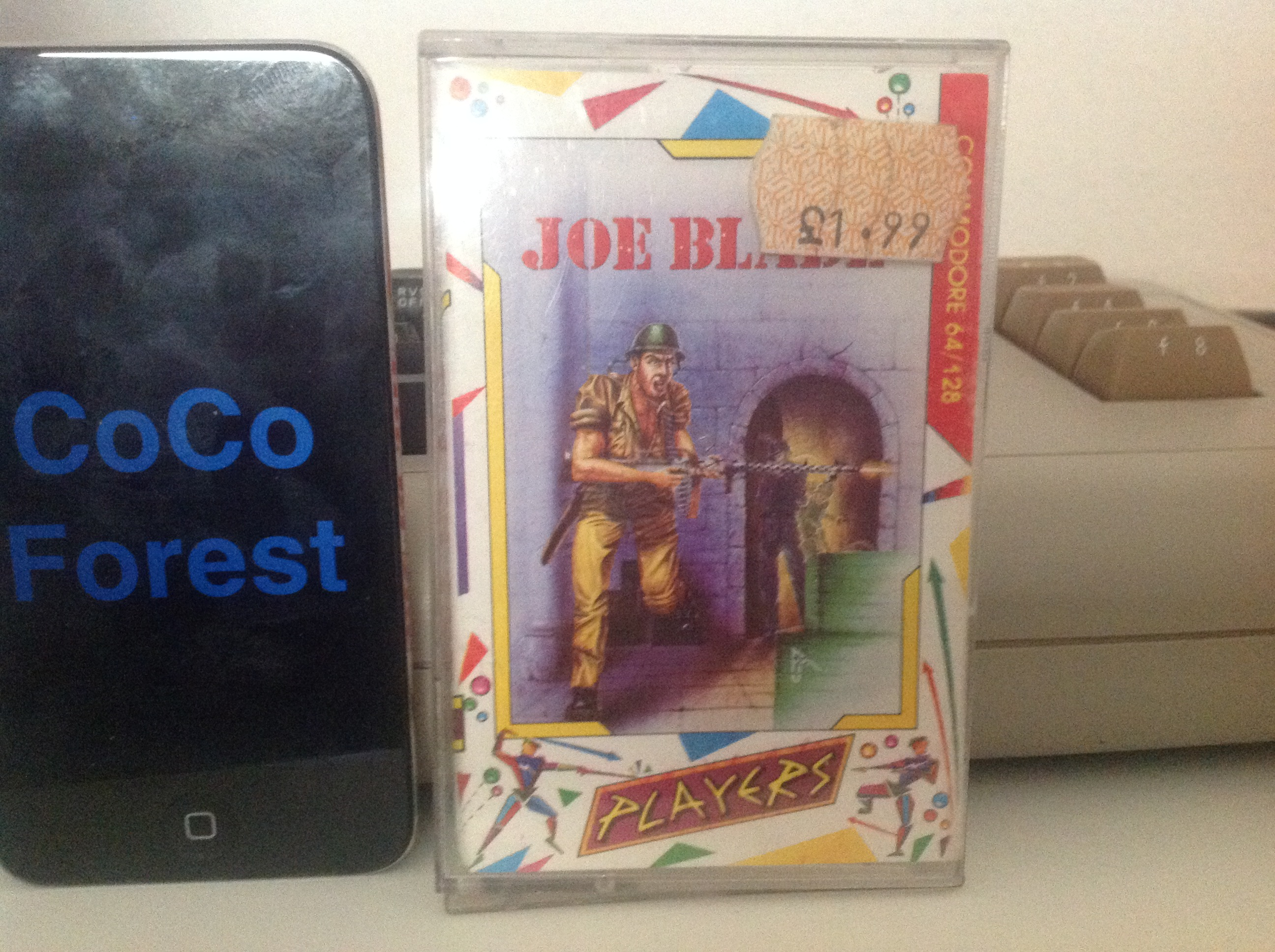 CoCoForest: Joe Blade (Commodore 64) 14,500 points on 2015-12-11 07:29:34