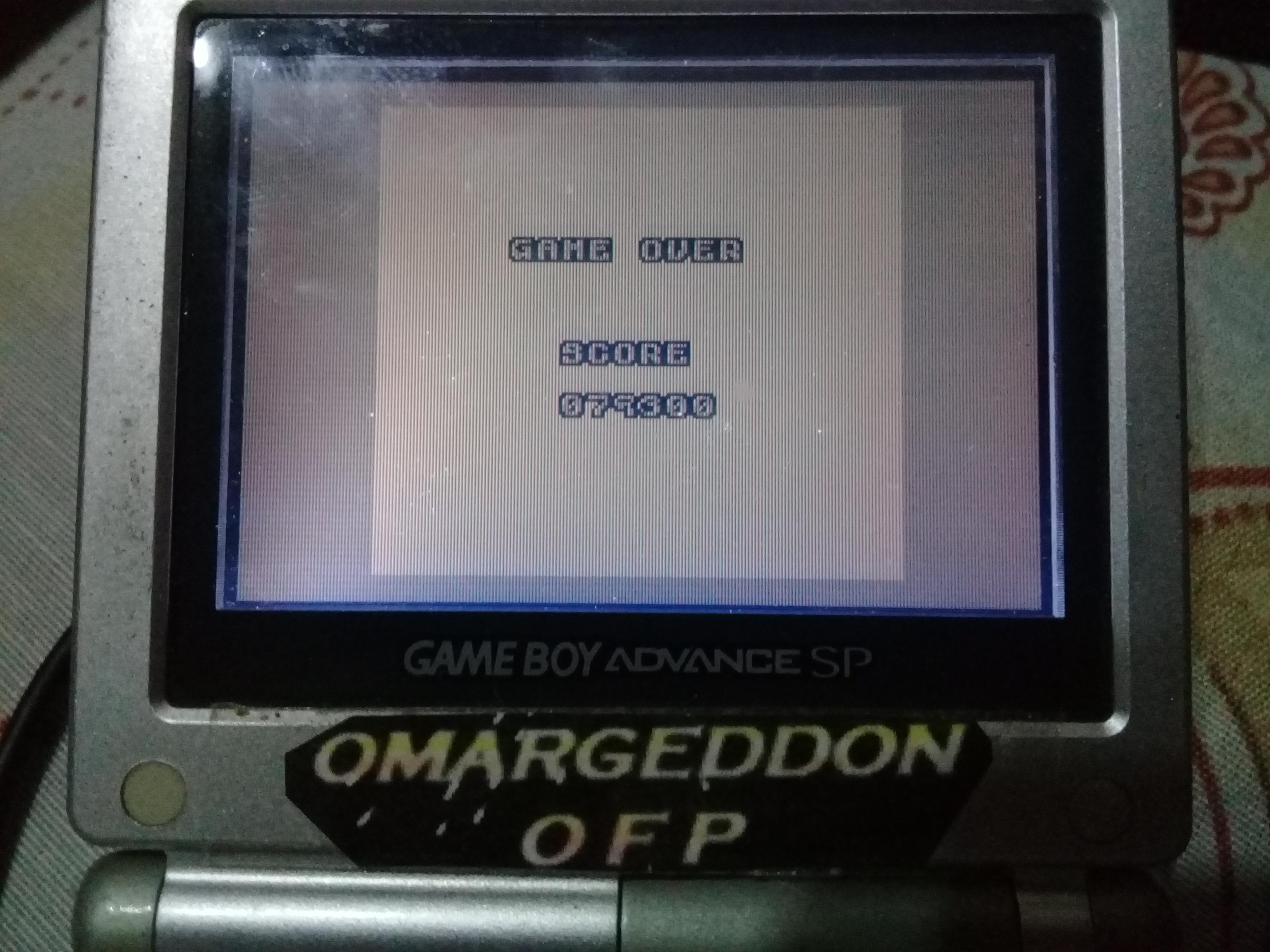 omargeddon: Joe & Mac (Game Boy) 79,300 points on 2019-07-02 09:38:50