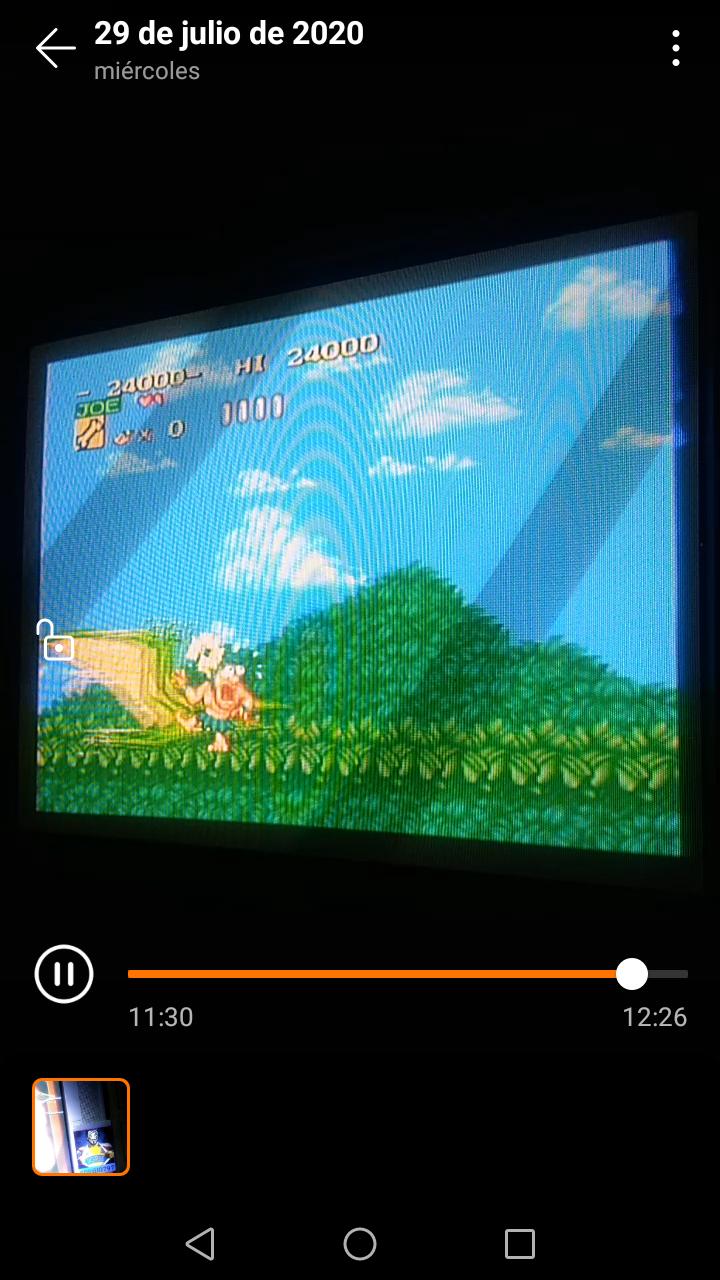 Sdrgio797: Joe & Mac: Caveman Ninja (SNES/Super Famicom Emulated) 24,000 points on 2020-07-30 00:02:47