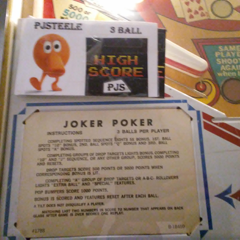 Joker Poker 171,220 points
