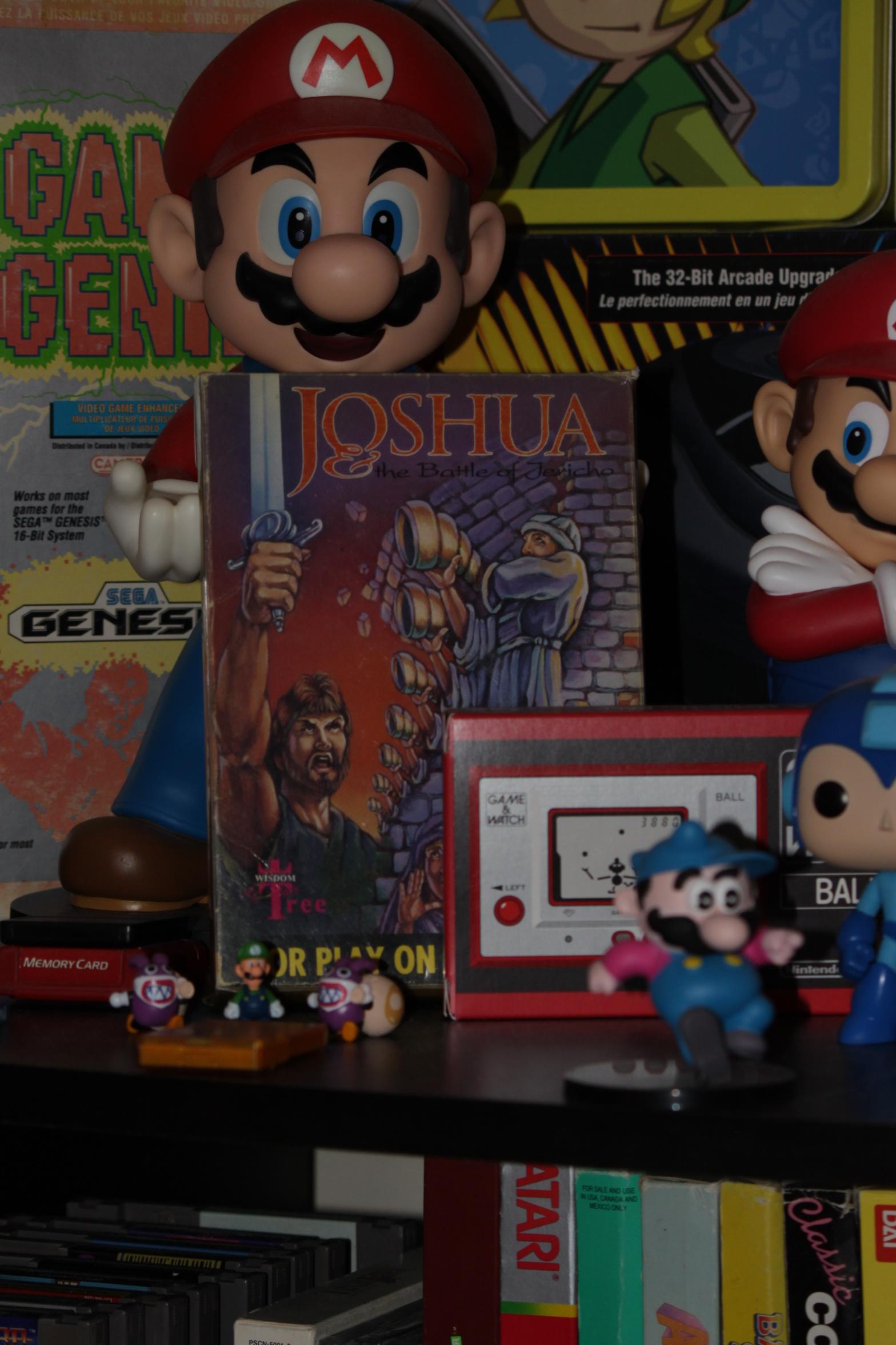 exosilver: Joshua & The Battle Of Jericho [Level 1 Start] (NES/Famicom) 40,220 points on 2016-11-27 19:21:12