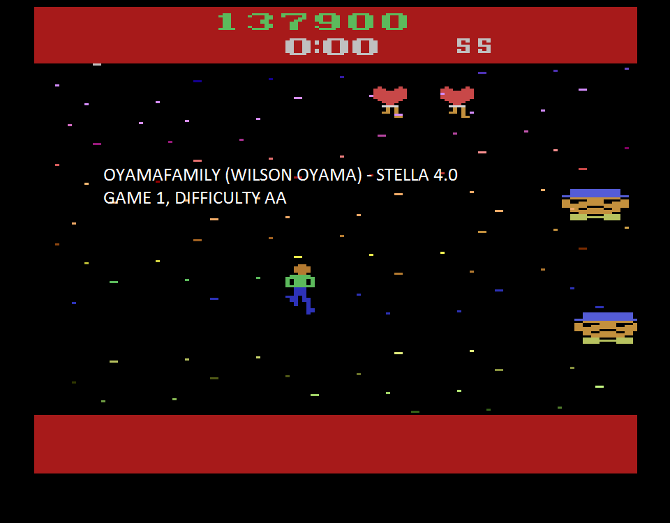 oyamafamily: Journey Escape (Atari 2600 Emulated Expert/A Mode) 137,900 points on 2015-08-14 19:28:11