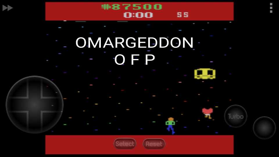 omargeddon: Journey Escape (Atari 2600 Emulated Expert/A Mode) 87,500 points on 2016-11-15 23:58:30