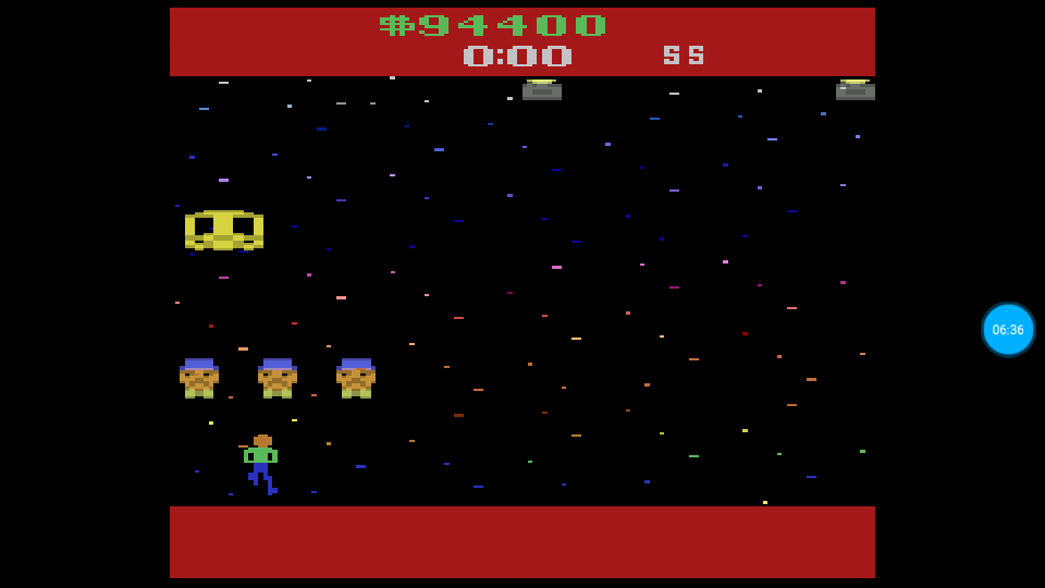 omargeddon: Journey Escape (Atari 2600 Emulated Expert/A Mode) 94,400 points on 2018-07-14 01:15:48