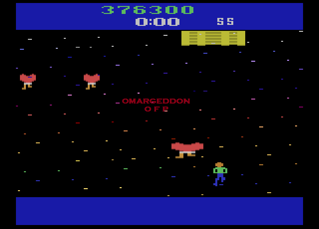 omargeddon: Journey Escape (Atari 2600 Emulated Novice/B Mode) 376,300 points on 2016-09-01 18:32:48