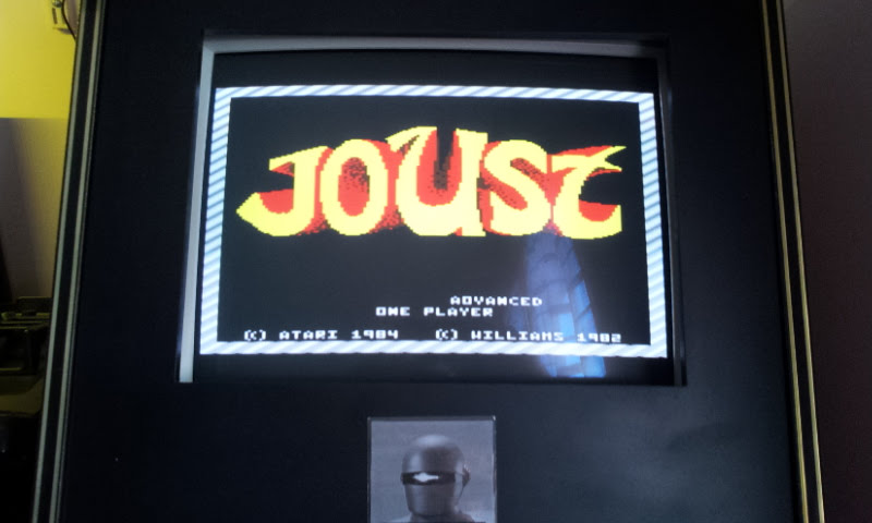 Larquey: Joust: Advanced (Atari 7800 Emulated) 13,500 points on 2017-12-10 07:53:53