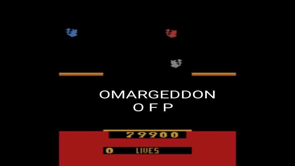 omargeddon: Joust (Atari 2600 Emulated) 79,900 points on 2016-12-14 23:36:49
