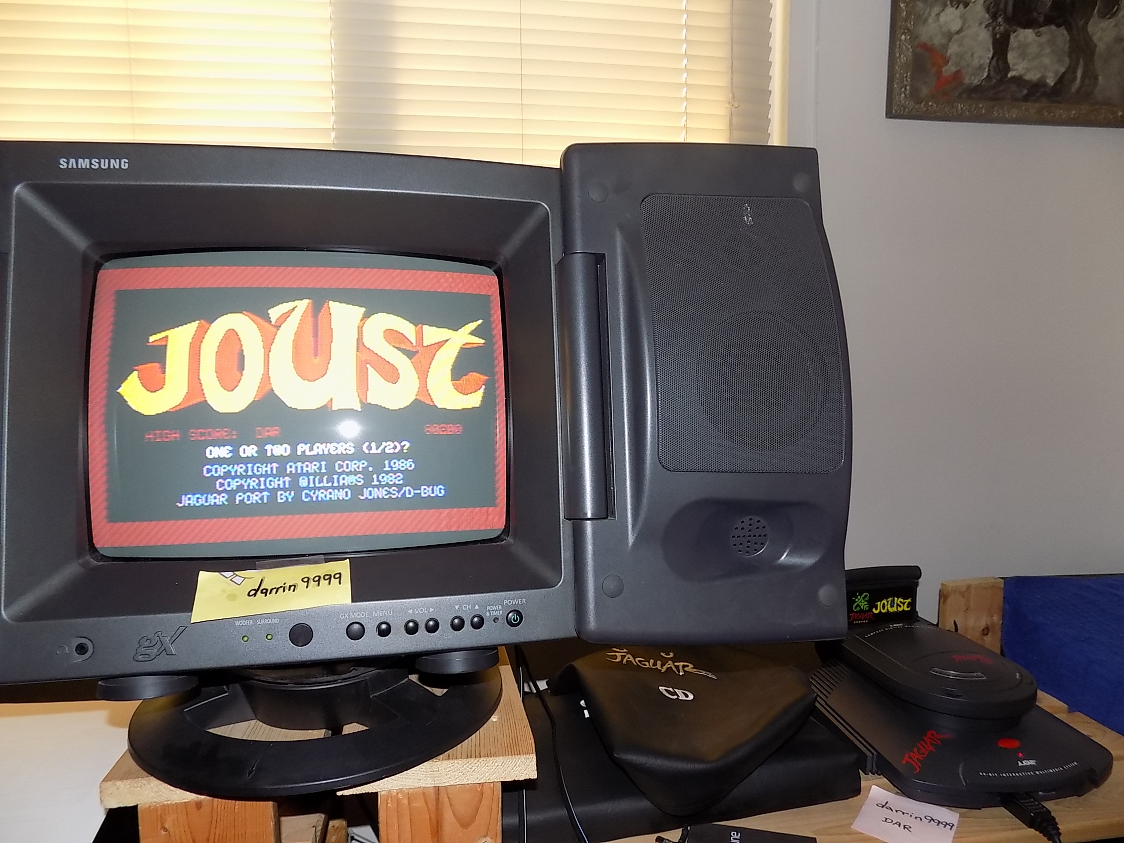 darrin9999: Joust (Atari Jaguar) 80,200 points on 2019-02-25 17:02:37