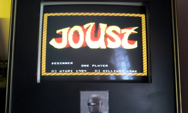 Larquey: Joust: Beginner (Atari 7800 Emulated) 49,600 points on 2017-12-10 07:48:02