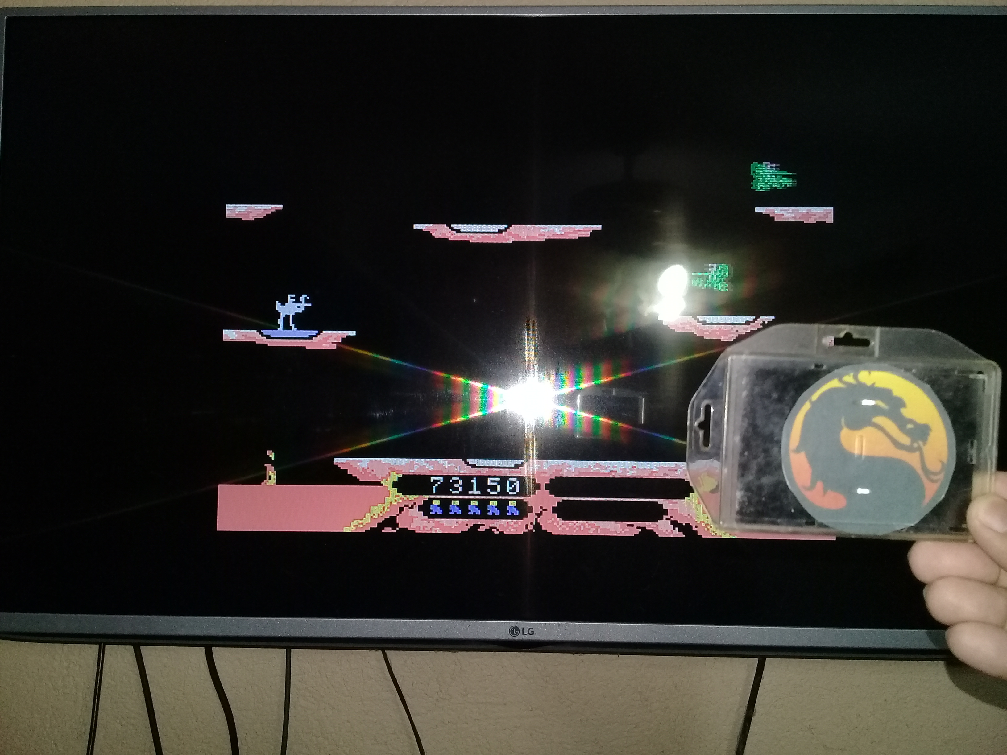 omargeddon: Joust (Colecovision Emulated) 73,150 points on 2020-06-21 09:14:59