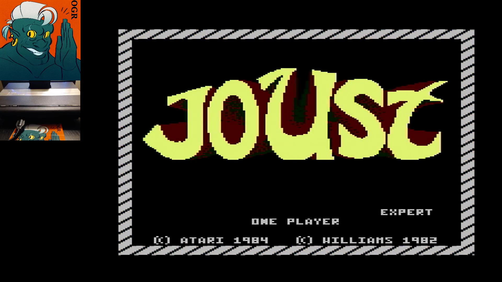 AwesomeOgre: Joust: Expert (Atari 7800) 113,500 points on 2020-03-05 06:05:19