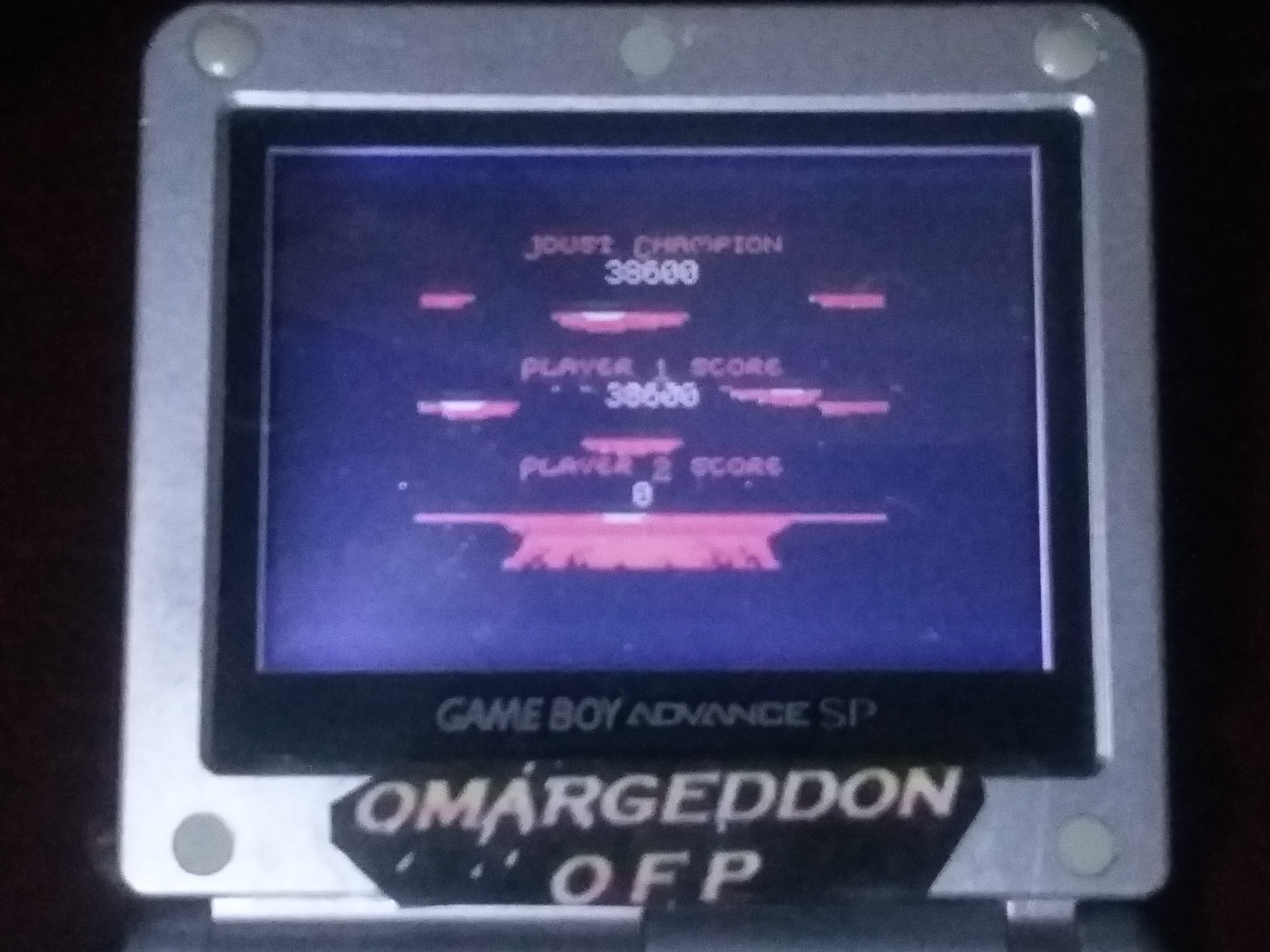omargeddon: Joust (Game Boy Color) 38,600 points on 2018-01-15 20:37:09