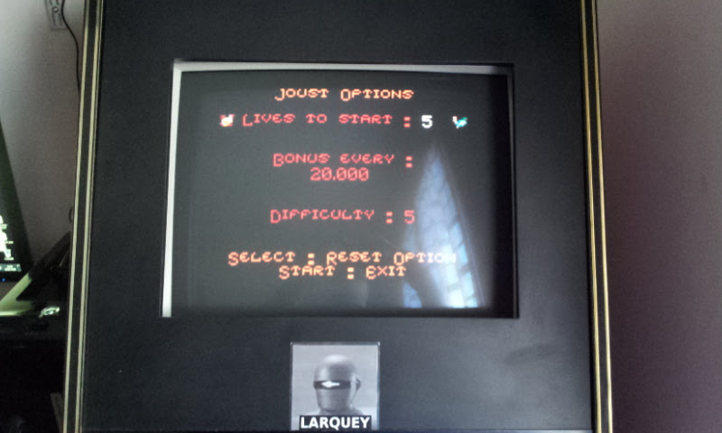 Larquey: Joust (Game Boy Color Emulated) 44,100 points on 2018-01-20 07:57:43