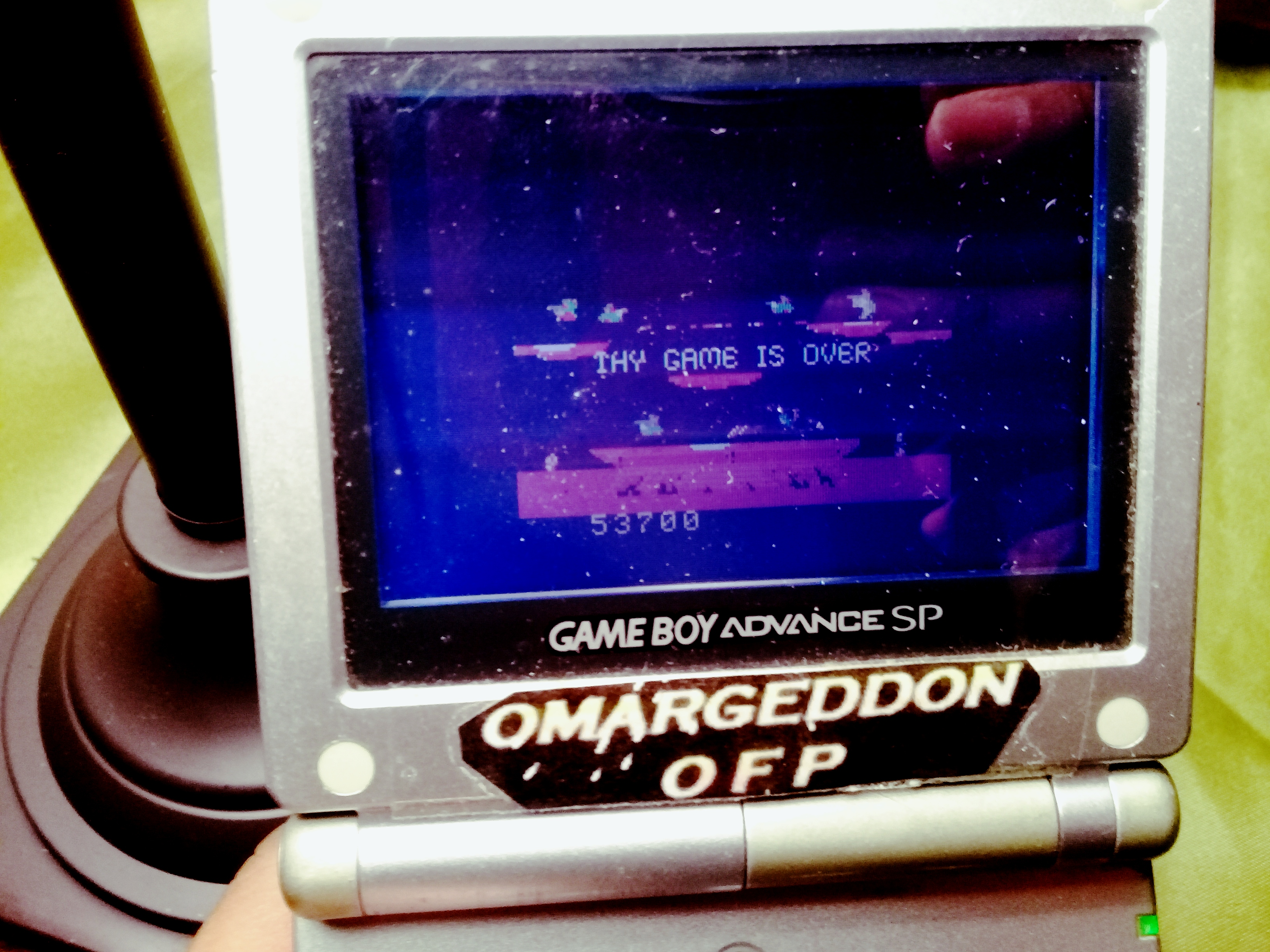 omargeddon: Joust (Game Boy Color) 53,700 points on 2019-12-11 18:13:37
