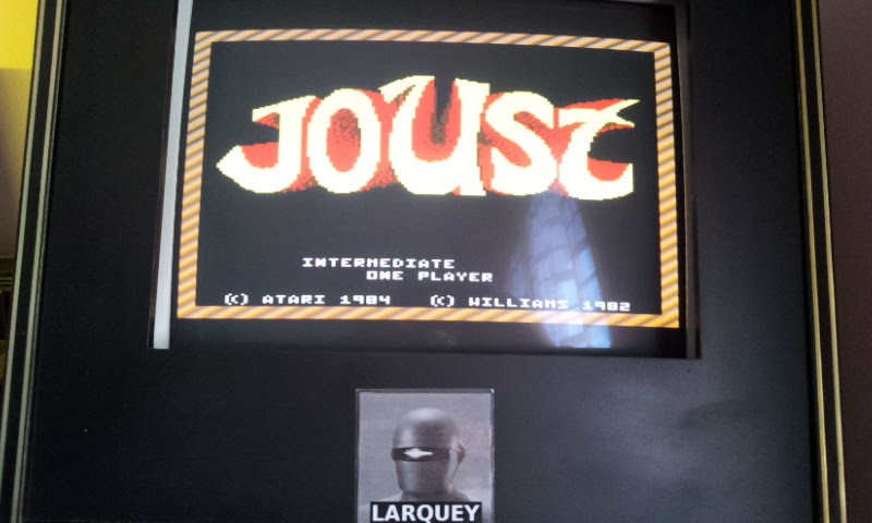 Larquey: Joust: Intermediate (Atari 7800 Emulated) 36,800 points on 2017-12-10 07:51:19