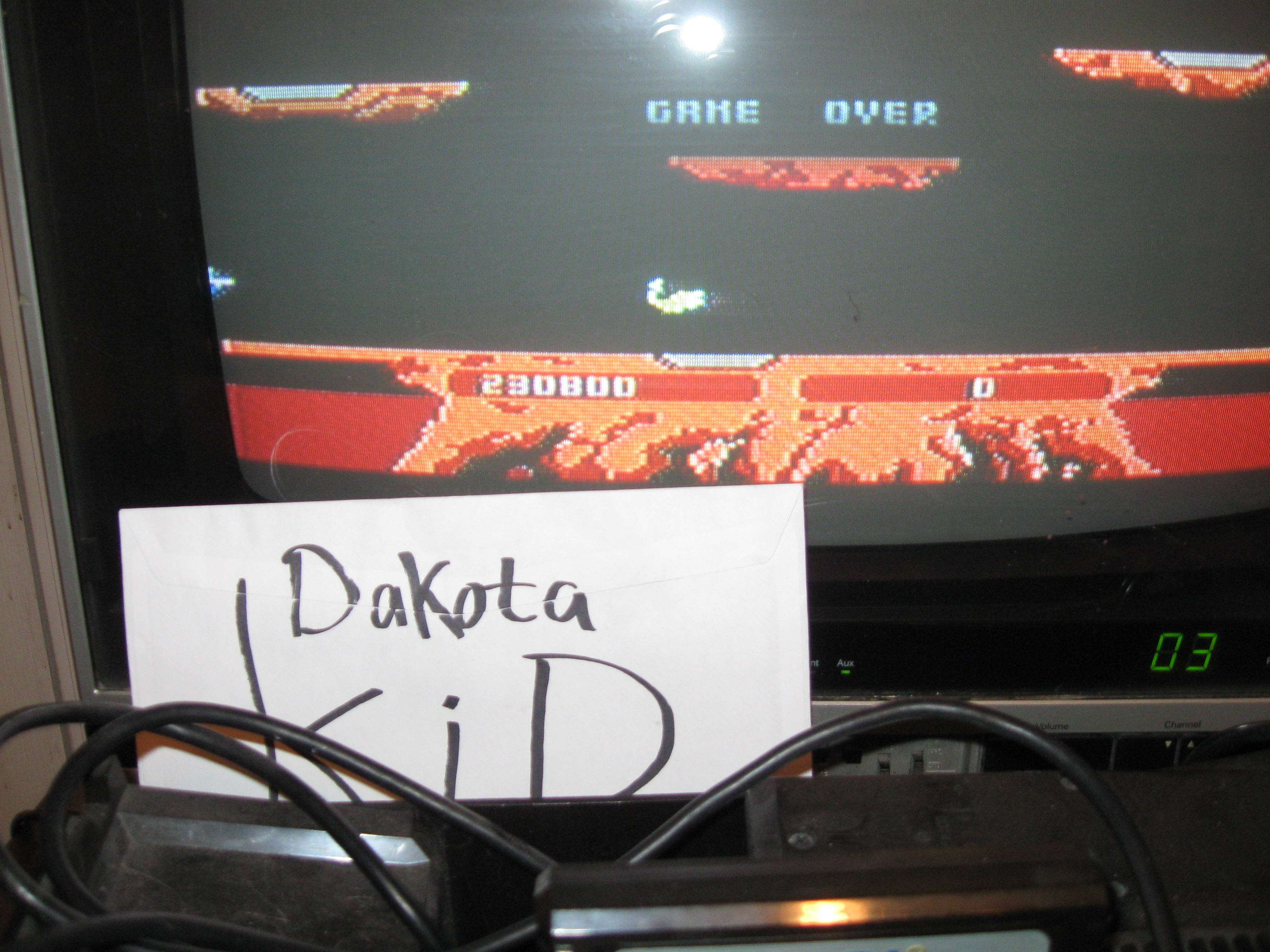DakotaKid: Joust: Novice (Atari 5200) 230,800 points on 2016-04-14 19:18:17