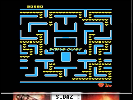 S.BAZ: Jr. Ms. Pac-Man: Cherries Start (Atari 7800 Emulated) 20,580 points on 2018-02-20 15:40:30