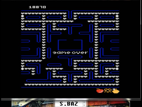 S.BAZ: Jr. Ms. Pac-Man: Orange Start (Atari 7800 Emulated) 18,870 points on 2018-02-20 15:36:26