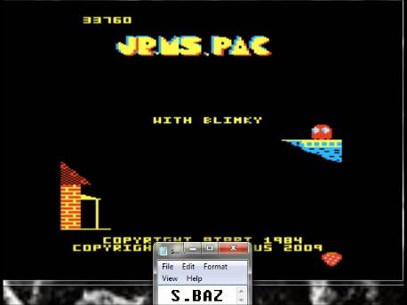 S.BAZ: Jr. Ms. Pac-Man: Strawberry Start (Atari 7800 Emulated) 33,760 points on 2016-02-28 17:27:06