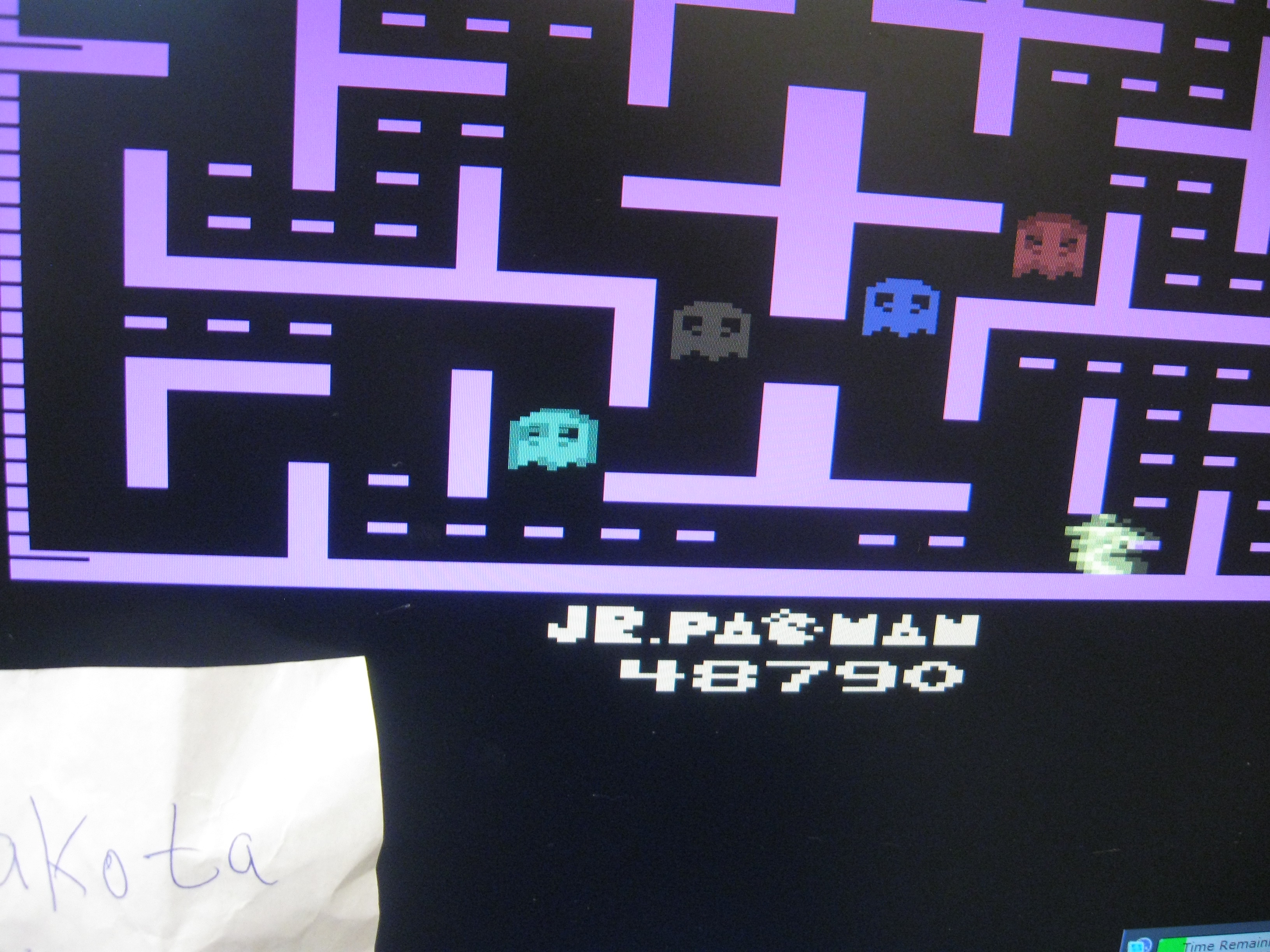 Jr. Pac-Man 48,790 points