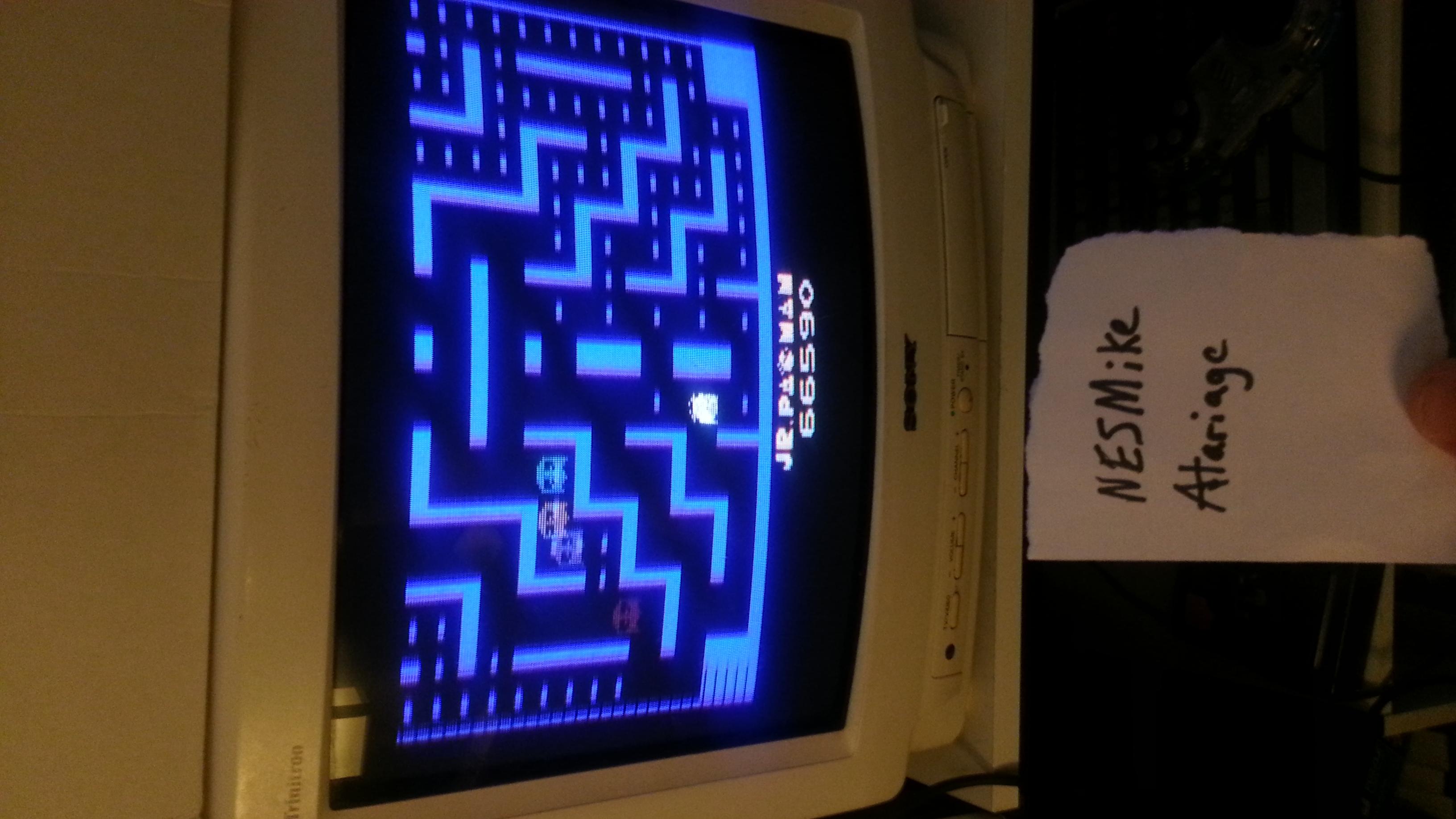 NESMike: Jr. Pac-Man (Atari 2600) 66,590 points on 2018-03-19 03:35:43