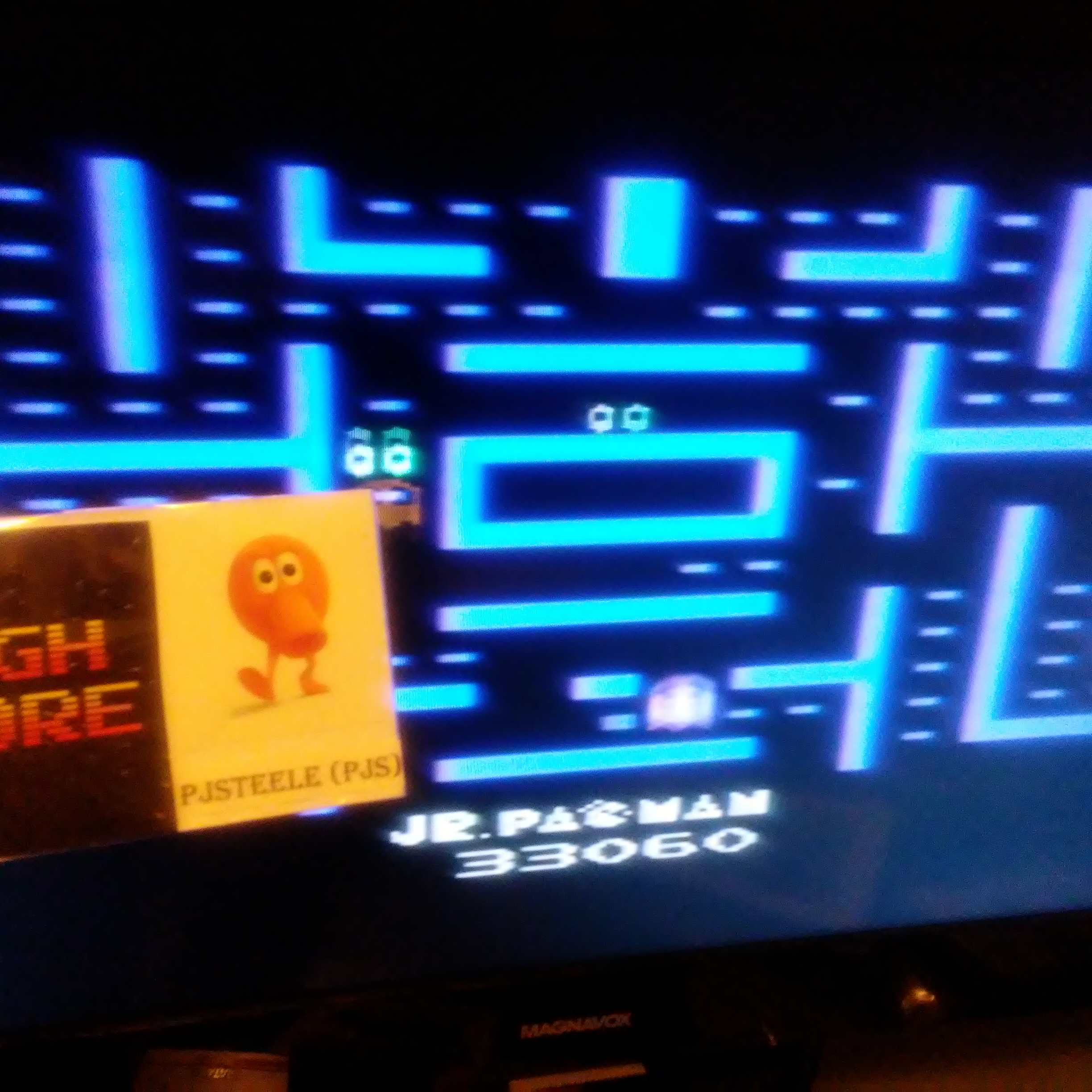 Jr. Pac-Man 33,060 points