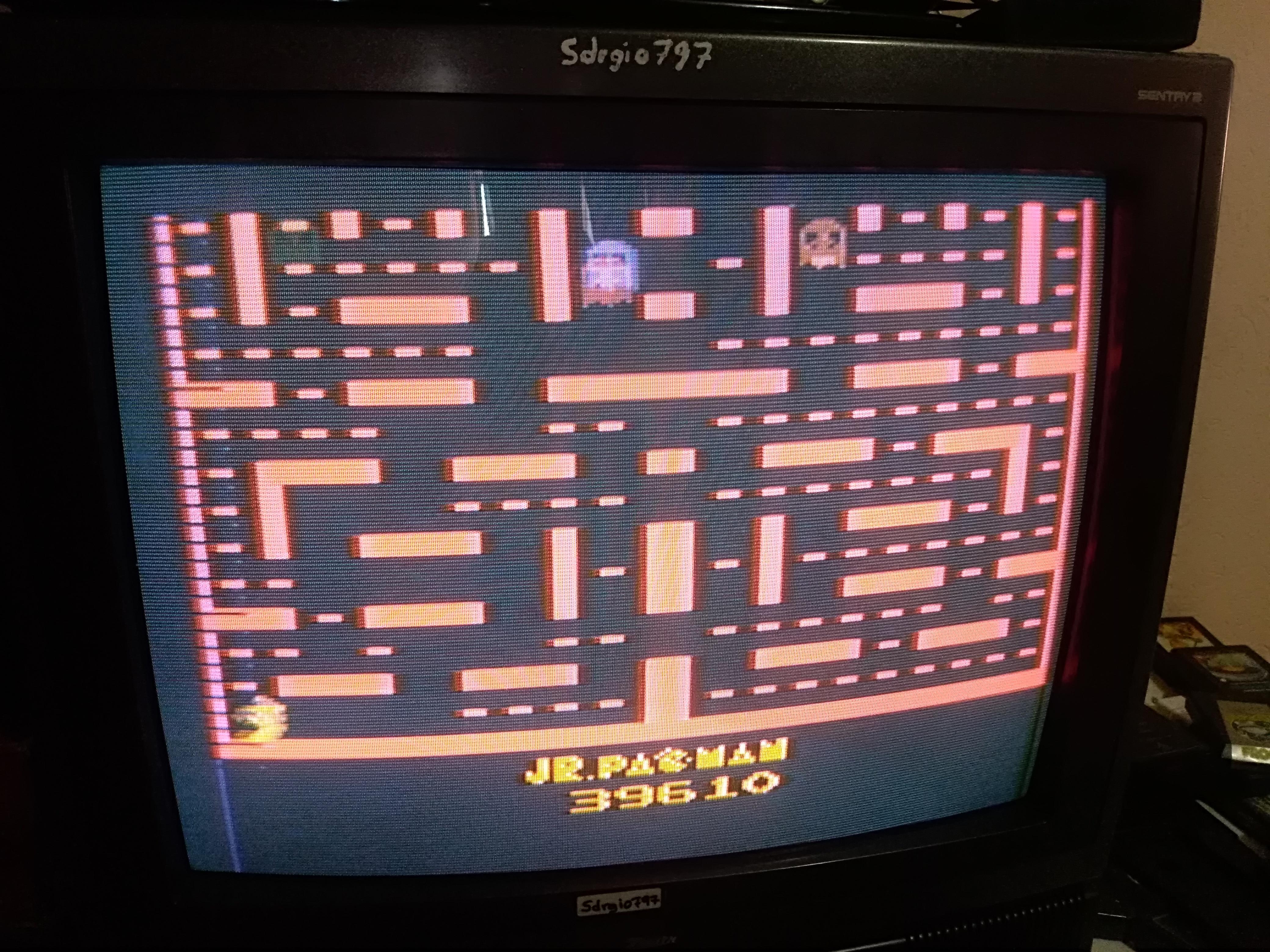Jr. Pac-Man 39,610 points