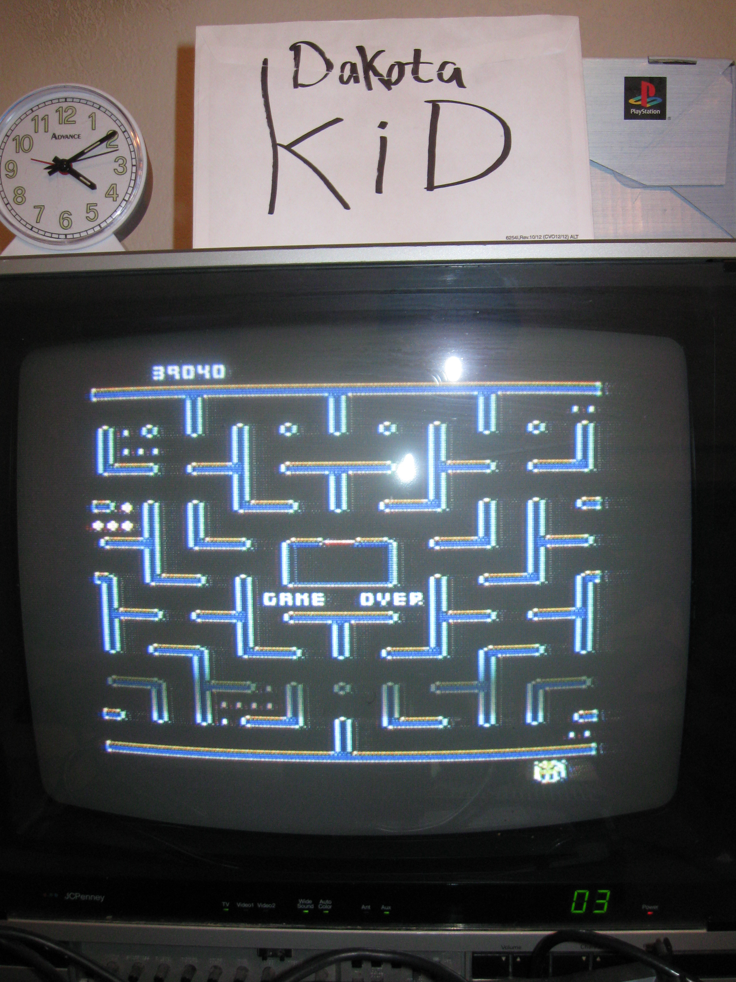 DakotaKid: Jr. Pac-Man (Atari 5200) 39,040 points on 2016-04-13 19:09:33