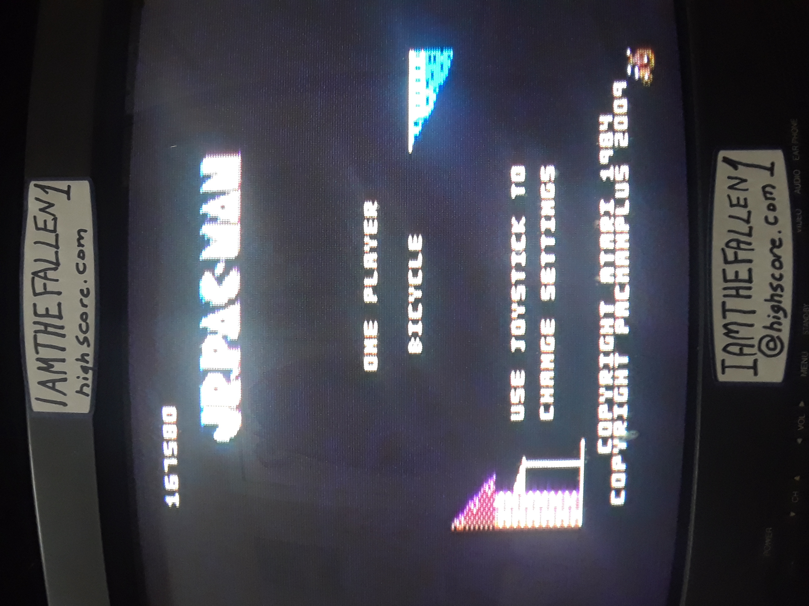 iamthefallen1: Jr. Pac-Man (Atari 7800) 167,580 points on 2019-01-31 21:17:32
