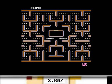 S.BAZ: Jr. Pac-Man [Balloon Start] (Atari 5200 Emulated) 21,890 points on 2016-05-25 14:57:02