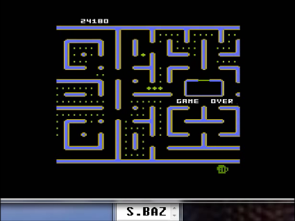 S.BAZ: Jr. Pac-Man [Cat Start] (Atari 5200 Emulated) 24,180 points on 2016-05-25 15:01:20
