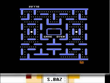 S.BAZ: Jr. Pac-Man [Drum Start] (Atari 5200 Emulated) 22,770 points on 2016-05-25 14:07:45