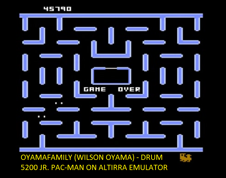 oyamafamily: Jr. Pac-Man [Kite Start] (Atari 5200 Emulated) 45,790 points on 2016-06-29 19:46:04