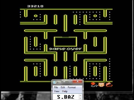 S.BAZ: Jr. Pac-Man: Kite Start (Atari 7800 Emulated) 33,210 points on 2016-02-25 03:10:28