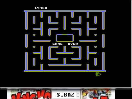 S.BAZ: Jr. Pac-Man [Root Beer Start] (Atari 5200 Emulated) 19,460 points on 2016-05-25 15:11:06