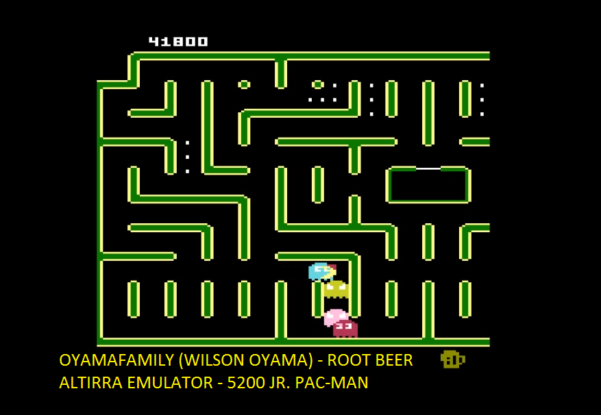 oyamafamily: Jr. Pac-Man [Root Beer Start] (Atari 5200 Emulated) 41,800 points on 2016-06-04 11:51:21