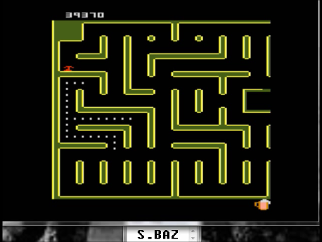 S.BAZ: Jr. Pac-Man: Root Beer Start (Atari 7800 Emulated) 39,370 points on 2016-02-25 03:23:20