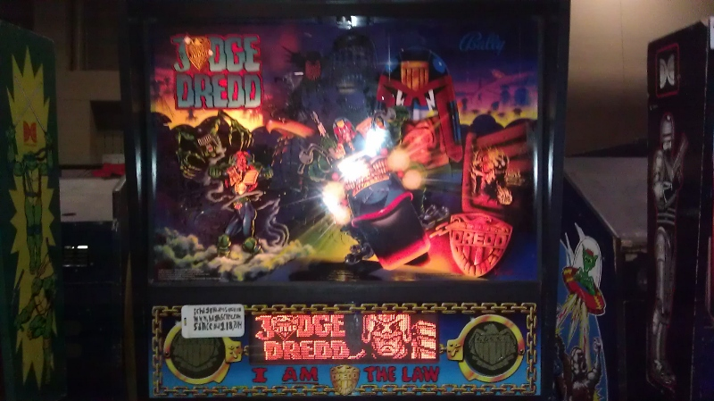 ichigokurosaki1991: Judge Dredd (Pinball: 3 Balls) 166,824,650 points on 2016-08-01 02:49:13