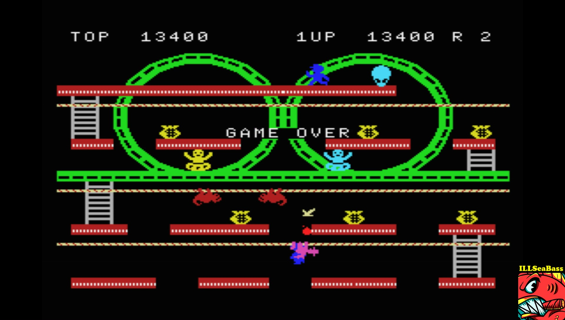 ILLSeaBass: Jump Coaster (MSX Emulated) 13,400 points on 2017-08-20 00:21:16