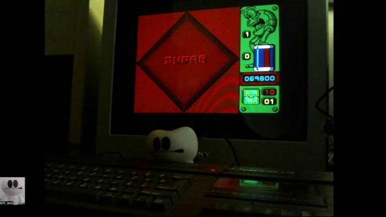 GTibel: Jump [Zigurat Software] (ZX Spectrum) 69,800 points on 2017-12-04 07:52:28