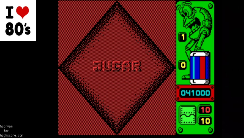 Giorvam: Jump [Zigurat Software] (ZX Spectrum Emulated) 41,000 points on 2020-03-07 04:31:53