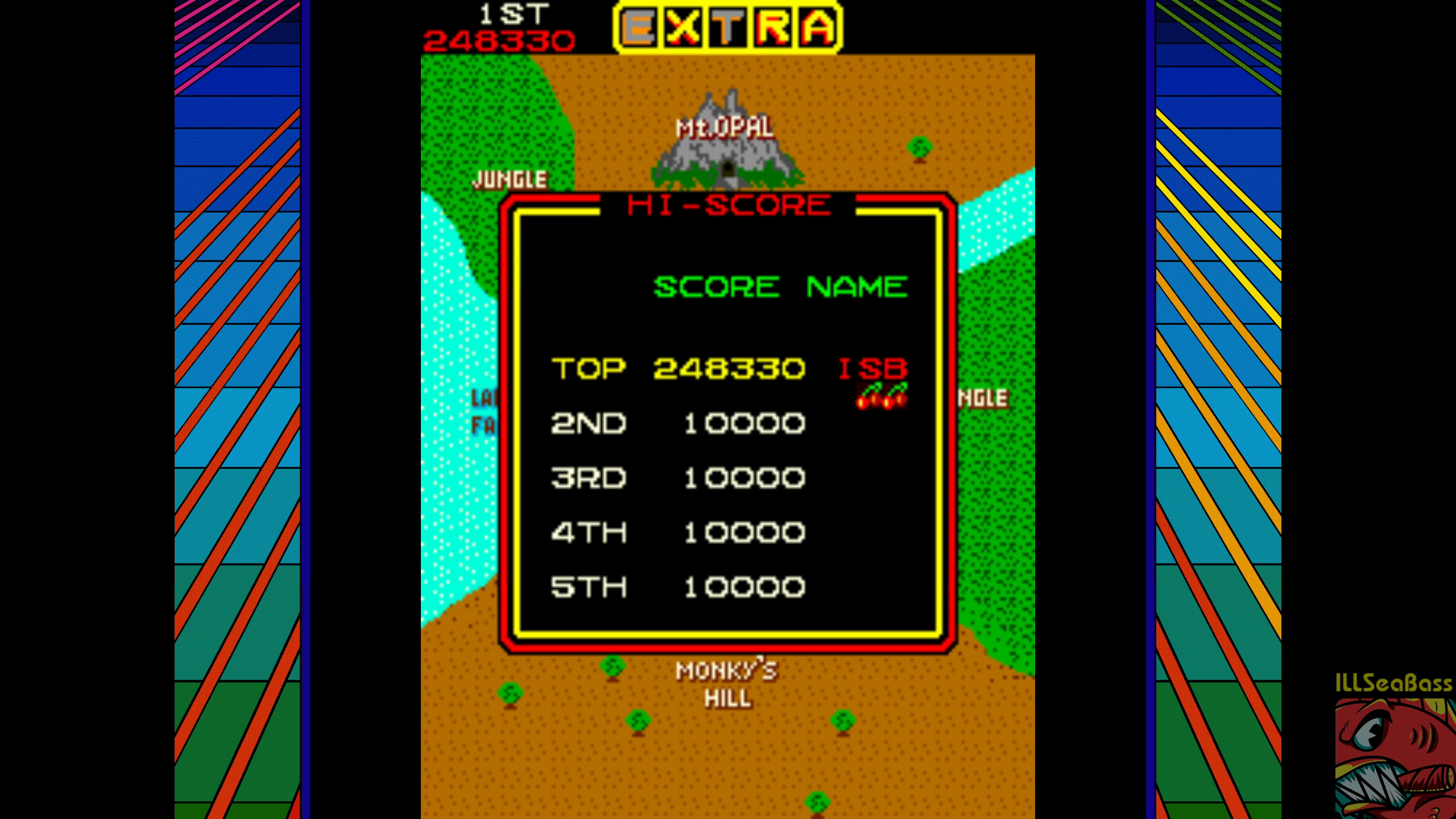 ILLSeaBass: Jumping Jack (Arcade Emulated / M.A.M.E.) 248,330 points on 2018-07-30 18:38:24
