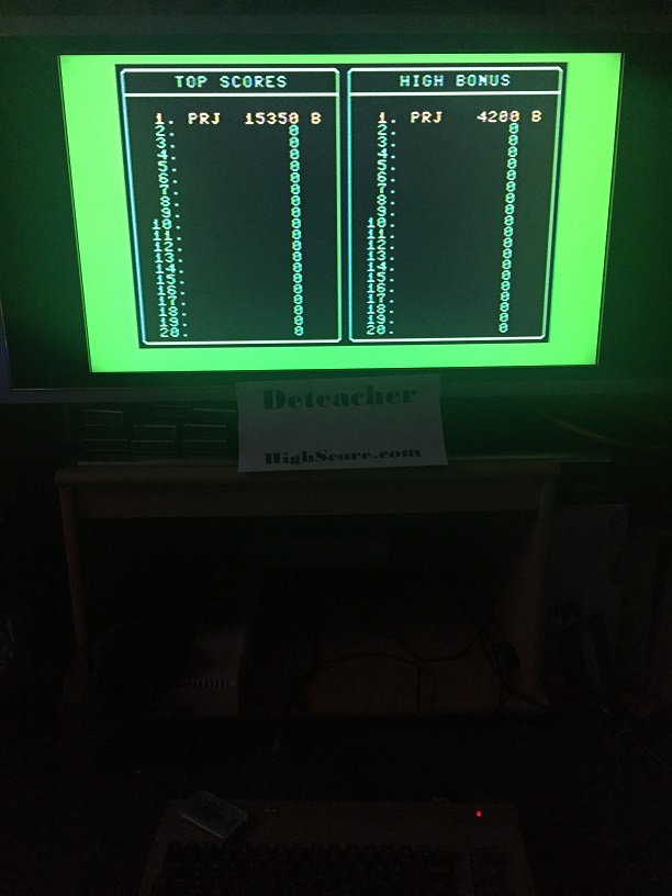 Deteacher: Jumpman (Commodore 64) 15,350 points on 2016-01-01 08:09:49