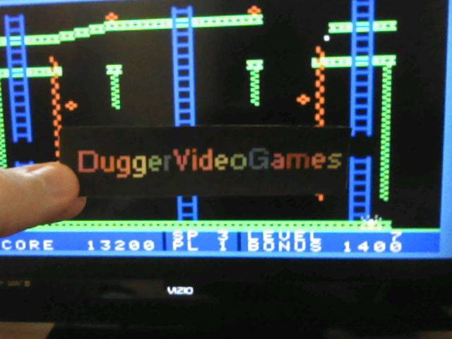 DuggerVideoGames: Jumpman Junior: Speed 3 (Colecovision Emulated) 13,200 points on 2017-06-06 02:44:46