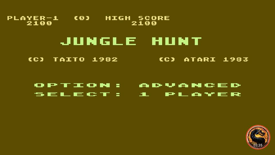 Jungle Hunt [Advanced] 2,100 points