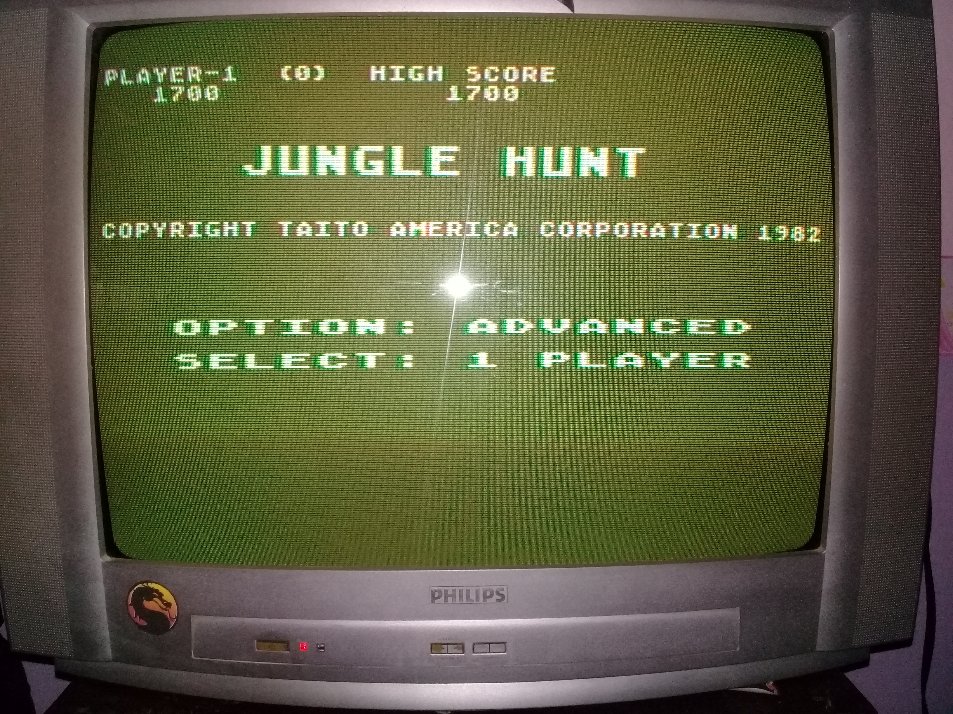 omargeddon: Jungle Hunt [Advanced] (Atari 400/800/XL/XE) 1,700 points on 2020-03-30 10:02:33