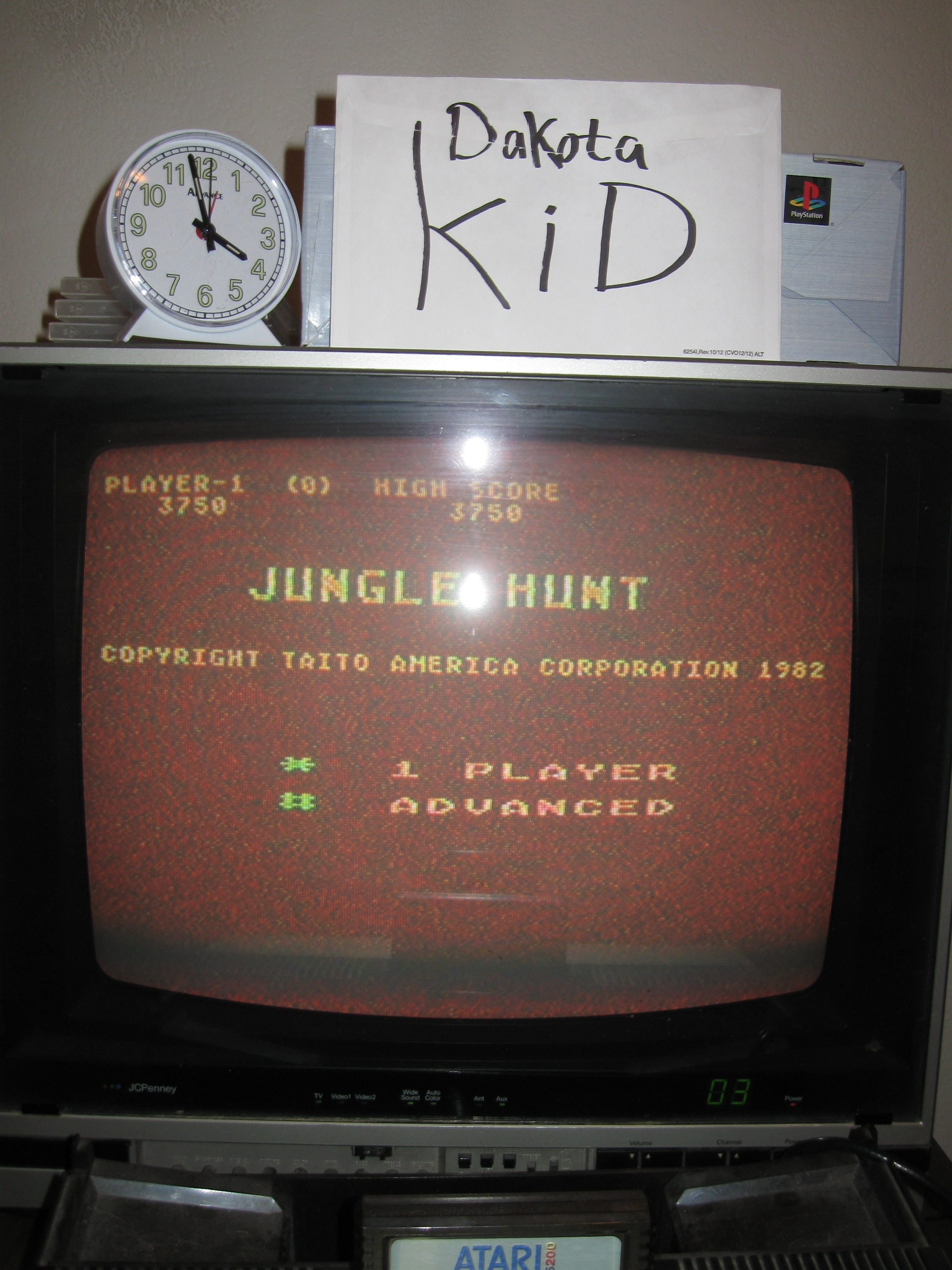 Jungle Hunt: Advanced 3,750 points