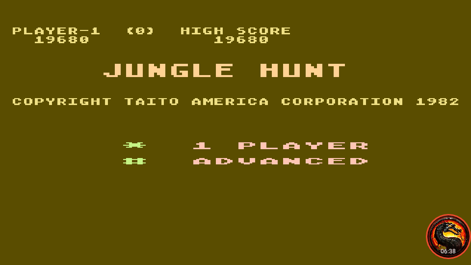 omargeddon: Jungle Hunt: Advanced (Atari 5200 Emulated) 19,680 points on 2020-03-18 20:59:41